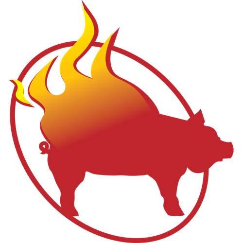 Rollin-Rib-BBQ-Joint-Pig-on-Fire