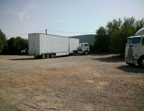 IJSBA Event Trailer And Staff Arrive At Crazy Horse To Construct World Finals