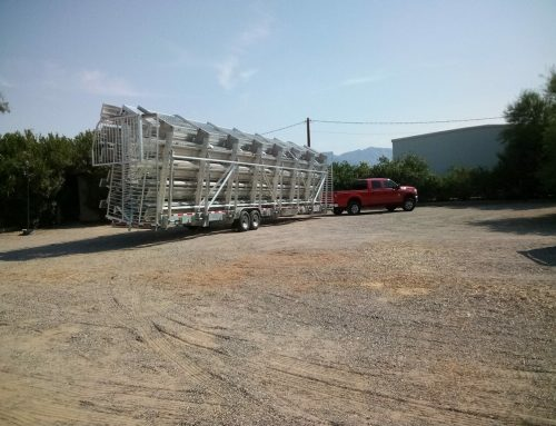 Grandstands Are Transported To Crazy Horse For 2021 World Finals